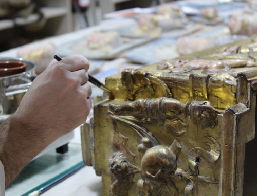 Fundación Iberdrola España visits the Higher School of Conservation and Restoration of Cultural Property (ESCRBC)