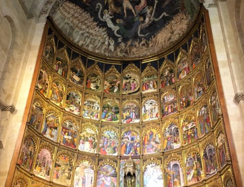 Iberdrola is to illuminate the altarpiece of the Old Cathedral of Salamanca